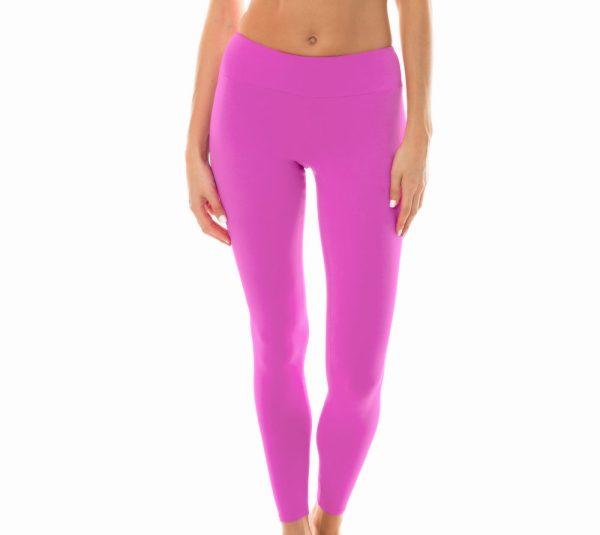Uni rosa Fitness Leggings - Leg Nz Glam