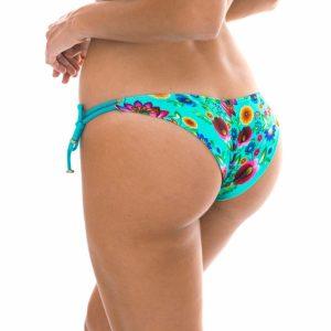 Sexy Bikinihose, geblümt mit Lurexschnur - Rio de Sol