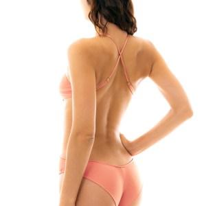 Sexy Trikini pfirsichrosa