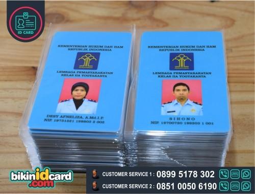contoh id card pns