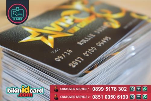 HARGA CETAK ID CARD EMBOSS MURAH - contoh id card emboss