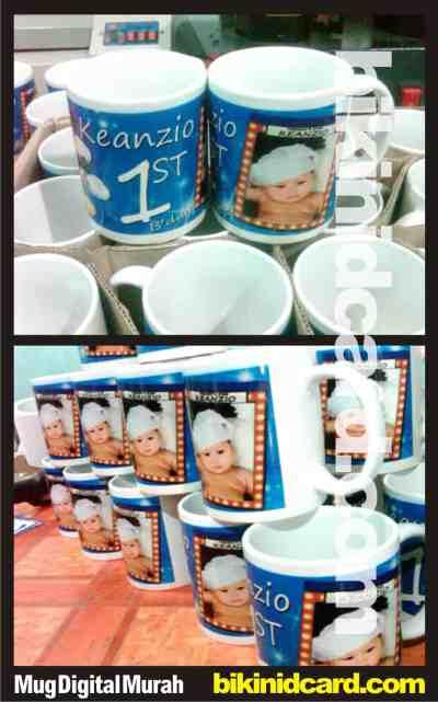 contoh mug digital murah - mug souvenir ulang tahun