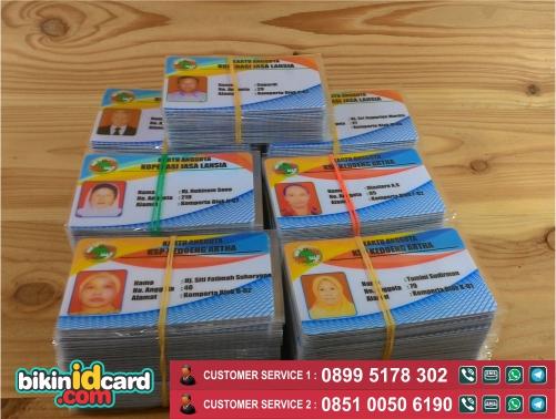 Harga cetak id card koperasi murah - Contoh id card koperasi