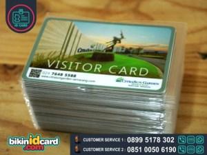 HARGA CETAK KARTU VISITOR - Contoh kartu visitor