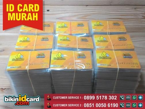 Harga cetak kartu member