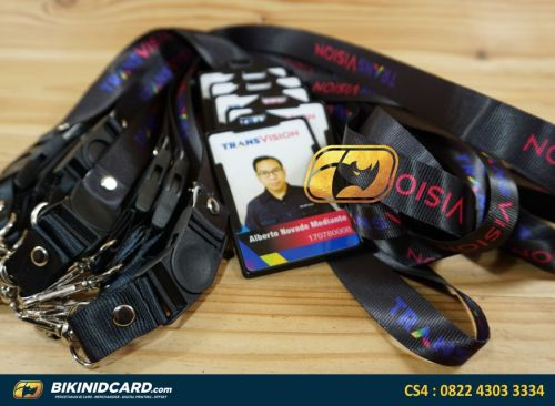 contoh id card karyawan