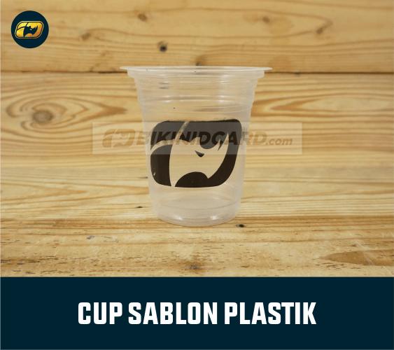 Jasa Sablon Cup Plastik Jogja