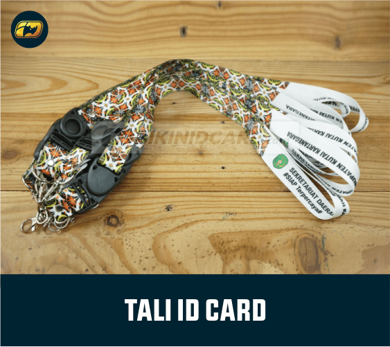 tali id card printing tisu