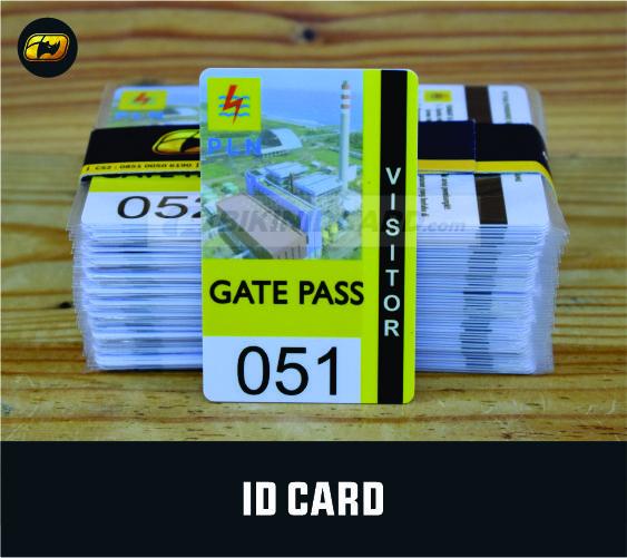 Contoh dan Desain Kartu Visitor