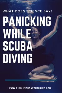 What does science say? -Panicking while scuba diving