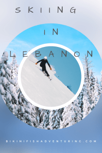 Skiing in Lebanon.