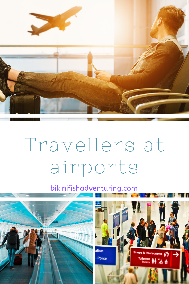 Travellers at airports