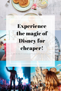 Experience the magic of Disney for cheaper!