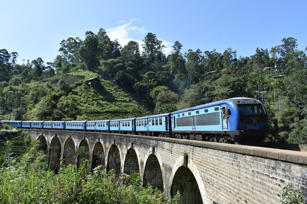 Train from Kandy to Ella