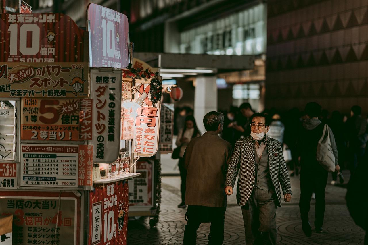 Night-life in Kabukichō, Tokyo.