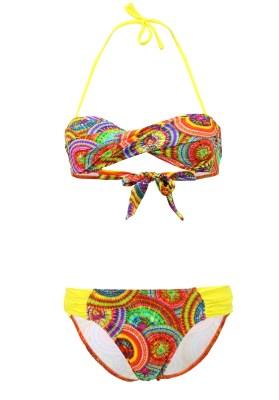 Maillot de bain Enfant Lolita Angels 2 Pièces Bandeau Rio Chic Sunny Multicolore - Couleurs - MULTICOLORE