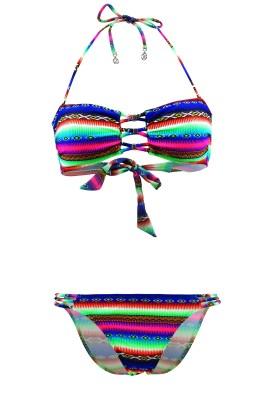 Maillot de bain Lolita Angels 2 Pièces Bandeau Rio Charm Acapulco Smile Multicolore - Couleurs - MULTICOLORE