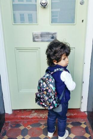 Tiba and Marl backpack