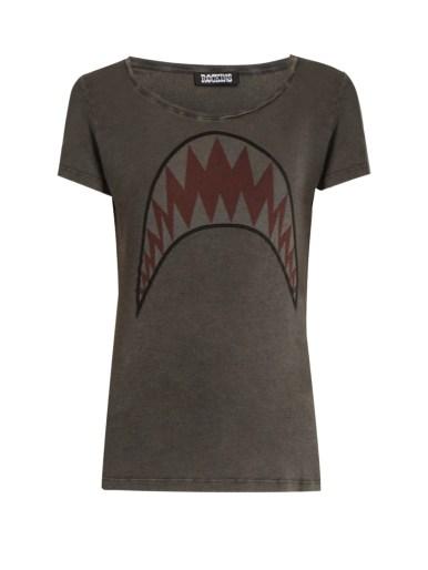 Rockins Shark Print tshirt