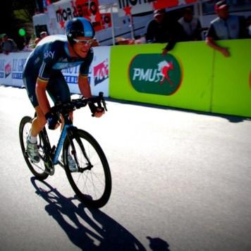 Team Sky rider Michael Rogers, Tour de Romandie 2012.