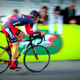 BMC rider Steve Morabito during final time trial at Tour de Romandie in Crans-Montana, Switzerland, april 29 2012.