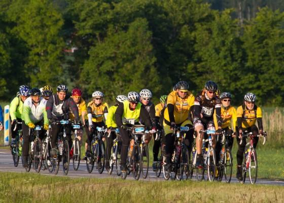 Près de 20'000 cyclistes se sont élancés sur les 300 kilomètres de l'édition 2013. Photo: Micke Fransson/Vätternrundan