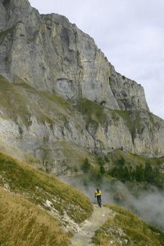 Sur le sentier entre Sorniot et l'Erié.