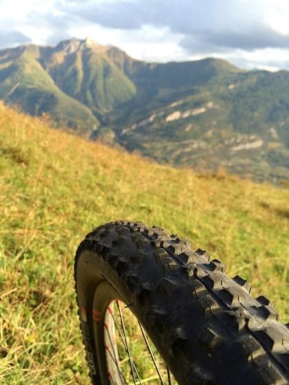 Mountain bike à Randonne avec le Bergamont  Bergamont MGN