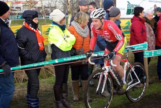Julien Taramarcaz s'est fait l'auteur d'un très bon départ et est toujours resté aux alentours de la 10e place.