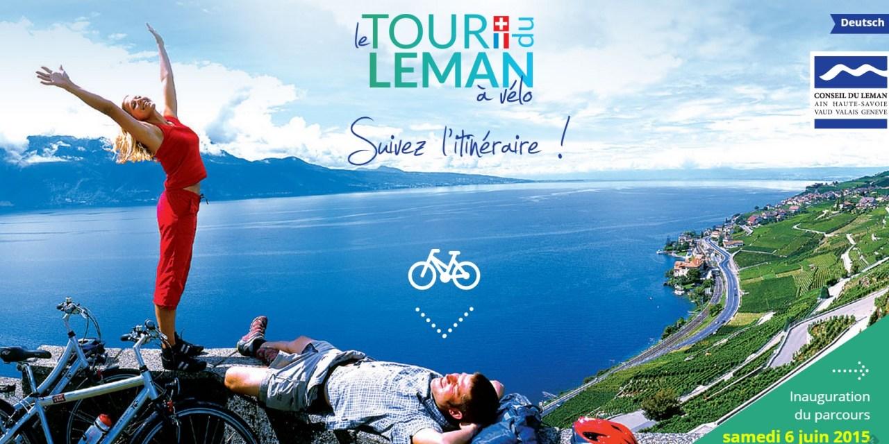 Le tour du Léman à vélobalisé