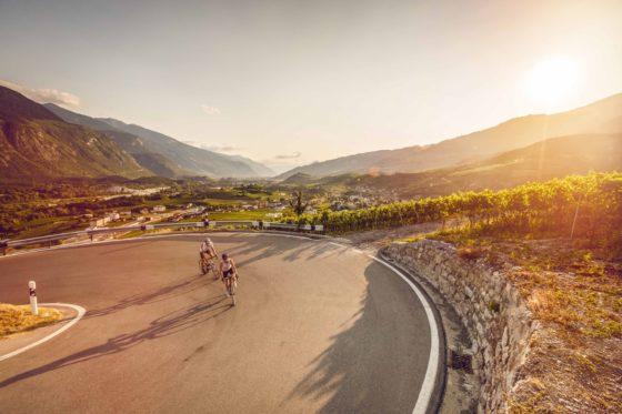 Le Valais Vélo Tour mise en effet sur la valorisation des atouts régionaux du canton. Photo Valais/Wallis Promotion - Pascal Gertschen.