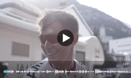 Simon Pellaud : «Une journée incroyable sur le vélo»