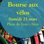 Bourse aux vélos à Sion