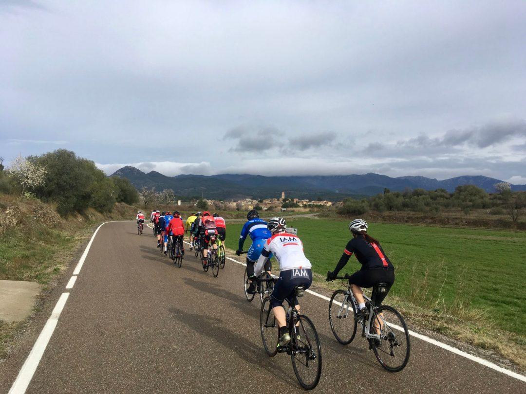 Camp 2018 de la Fédération cycliste valaisanne à Empuriabrava, Catalogne.