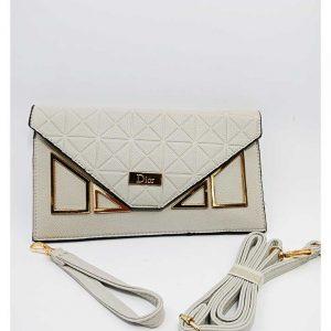c066c21f5e47 4 2 300x300 - BiktaHai White Leather Sleek Design Handbag For Women ...