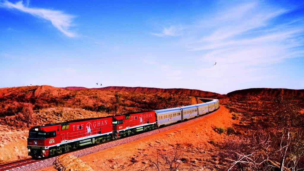 Med tog gennem Australien