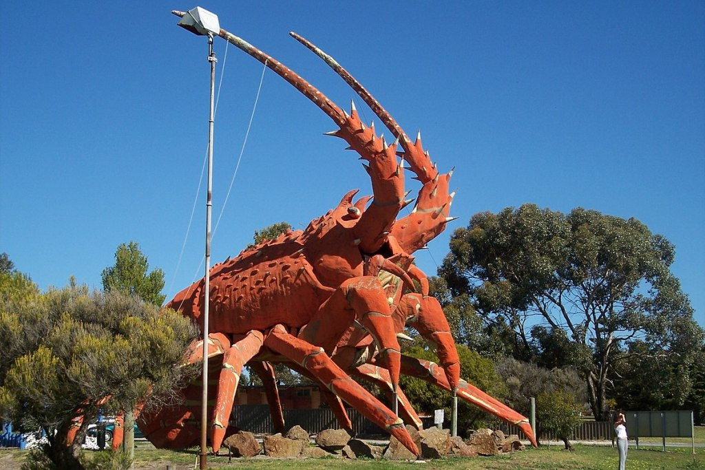 Larry the Big Red Lobster i Kingston SA