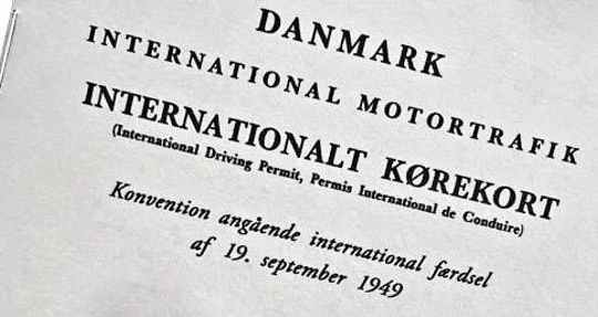 Internationalt kørekort