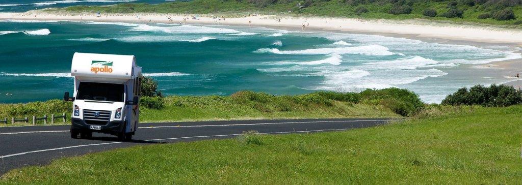 Flytning af biler og autocampere i Australien
