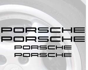 Porsche broms dekaler
