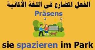 الفعل-المضارع-فى-اللغة-الألمانية-Präsens