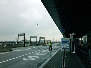 ~9:00AM: Finally arrived in Brussels Charleroi!