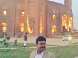 @farooqbhanbhro Offered prayers at Bahria Mosque Lahore #PPPFoundationDay