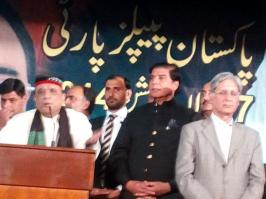 @Qamarzkaira We are #PPP We are a tradition Traditions never die #PPPFoundationDay #WorkersConvention #Lahore