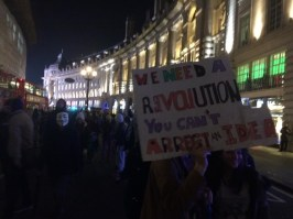 @sara_firth You can't arrest an idea Banners Chants & Fireworks at #London's #MillionMaskMarch
