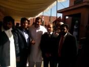@bonbondude Jialas converge around Senior PPP Leader Latif Khosa Sb for a group photo #PPPHawks #PPPFoundationDay