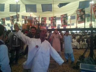 @TeamBilawalPPP Love that remains eternal #PPP jiyalas commemorate #PPPFoundationDay at #Lahore Unparalleled love