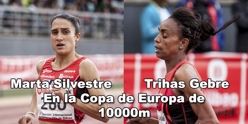 Dos atletas del BM Bilbao en la Copa de Europa de 10000