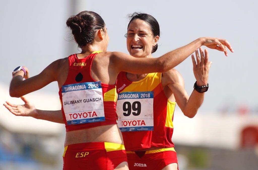 Elena Loyo Bronce en los Juegos del Mediterráneo
