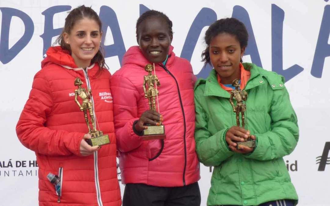 Natalia Gómez y Diana Martín, podios de gran distancia